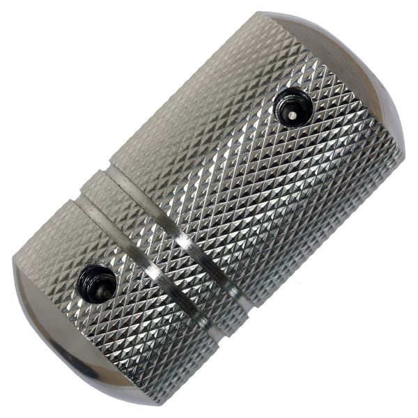 Edelstahl Grip 25 mm VERSION 2 inklusive Hülse Griffstück