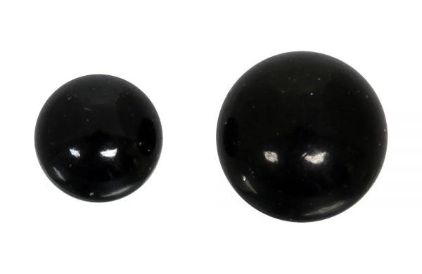 Kugel für 1,2 mm Gewinde aus schwarzem Chirurgenstahl Ersatzkugel Piercingkugel