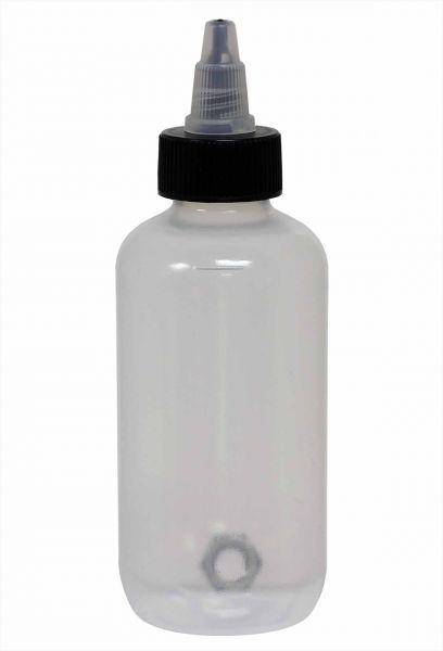 Leerflasche 125 ml mit Deckel und Schüttelstein Leerflasche Tattooflasche Tattoobedarf