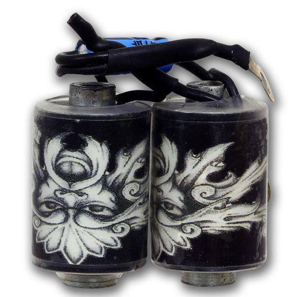 Maschinenspule VERSION 3 Tattoo Coil Spule für Tattoomaschinen 10 Wrap