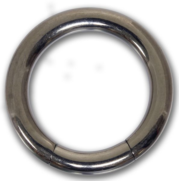Segmentring - 3,0 mm aus G23 Titan - Smooth Closure Ring