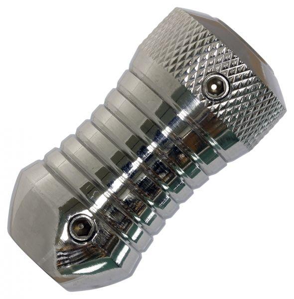 Edelstahl Grip 25 mm VERSION 10 inklusive Hülse Griffstück