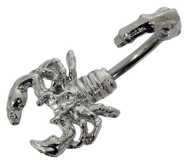 Bauchnabelpiercing SKORPION aus Chirurgenstahl Navel Piercing Bauchnabel
