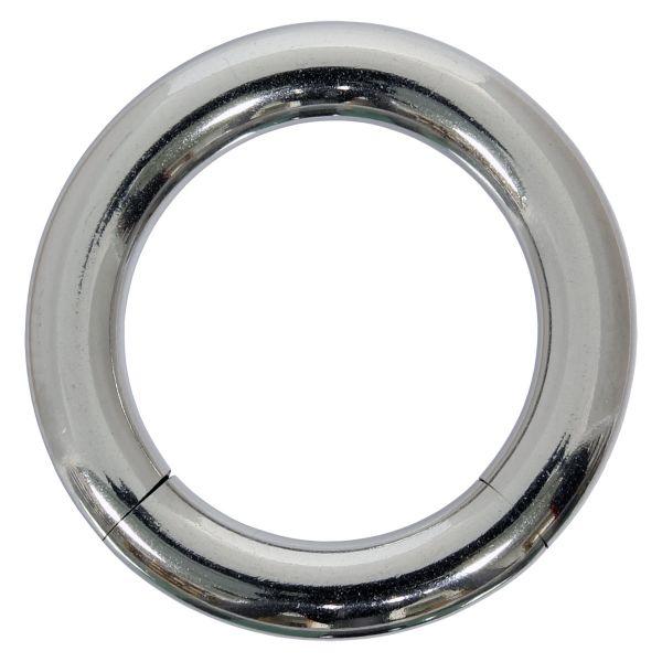 Segmentring - 3,0 mm aus Chirurgenstahl - Smooth Closure Ring