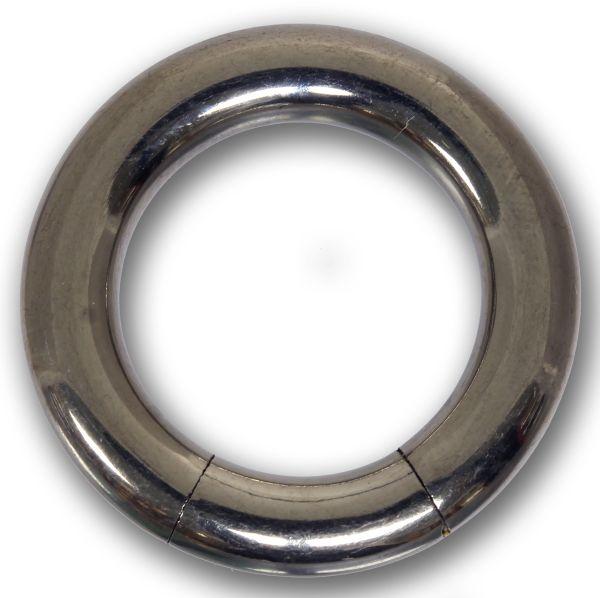 Segmentring - 4,0 mm aus G23 Titan - Smooth Closure Ring