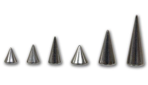 Spitze 1,2 mm zum aufschrauben aus Chirurgenstahl Ersatzspitze Piercingspitze