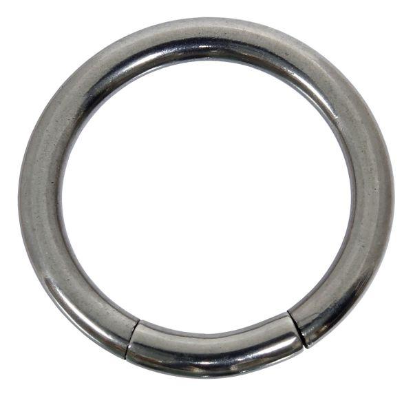 Segmentring - 1,6 mm aus Chirurgenstahl - Smooth Closure Ring