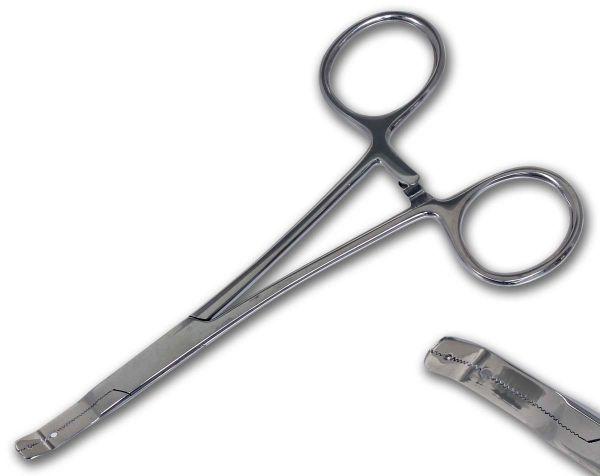 Micro Dermal Anchor Surface Zange für 1,2 und 1,6 mm Gebogen