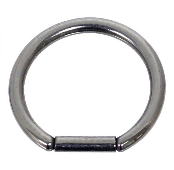 Bar Closure Ring 1,6 mm aus Chirurgenstahl Segmentring Piercingring Lippenpiercing