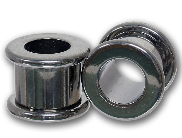 Flesh Tunnel zum Schrauben 3,0 - 12,0 mm aus Titan Ohrschmuck Screw