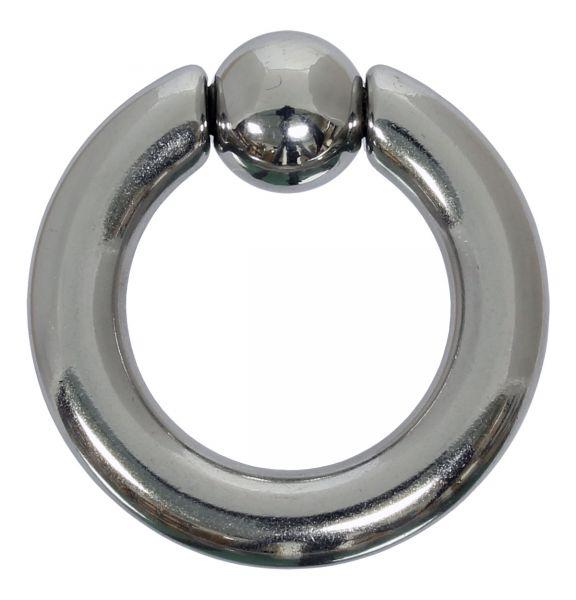 Federkugelring 5,0 mm aus Chirurgenstahl BCR Piercingring Intimpiercing