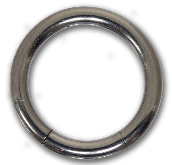 Segmentring - 2,0 mm aus G23 Titan - Smooth Closure Ring