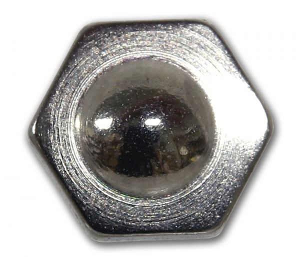 Sechskant-Schraube aus Chirurgenstahl für Dermal Anchors 1,2 mm Gewinde Under Skin Piercing