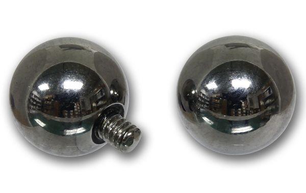 Ersatzkugel 6 mm für Schraubkugelringe mit 1,6 mm Gewinde Piercingkugel