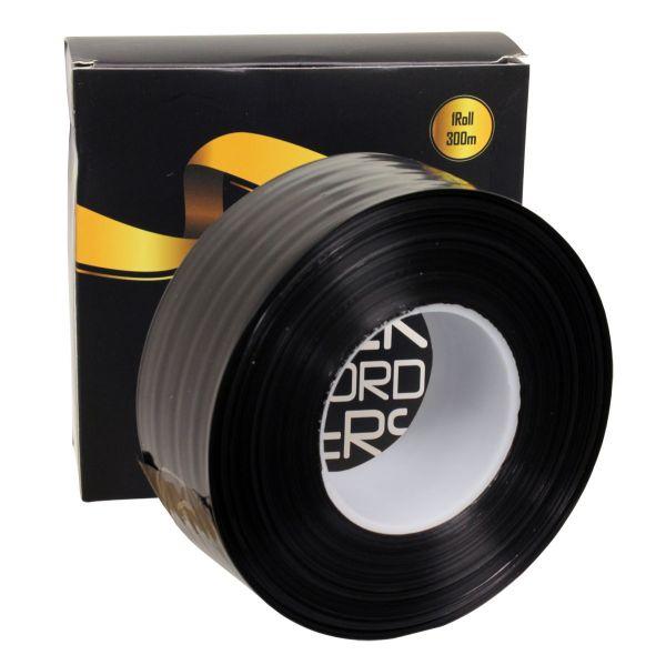 Schutzhüllen für Clipcords - Schwarz - Rolle 300 m zum Zuschneiden - BLACK CLIPCORD COVERS