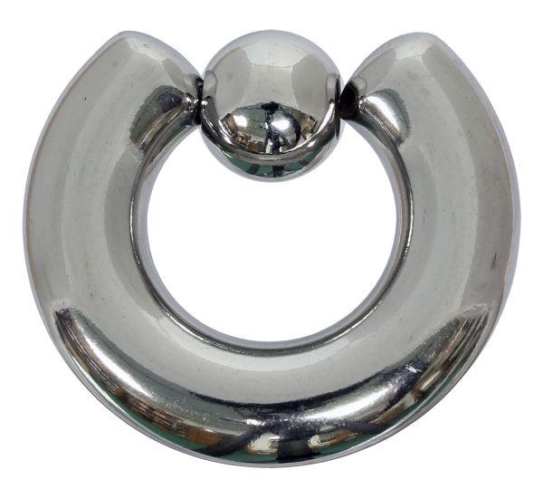 Klemmkugelring BCR 10,0 mm aus Chirurgenstahl Piercingring Intimpiercing