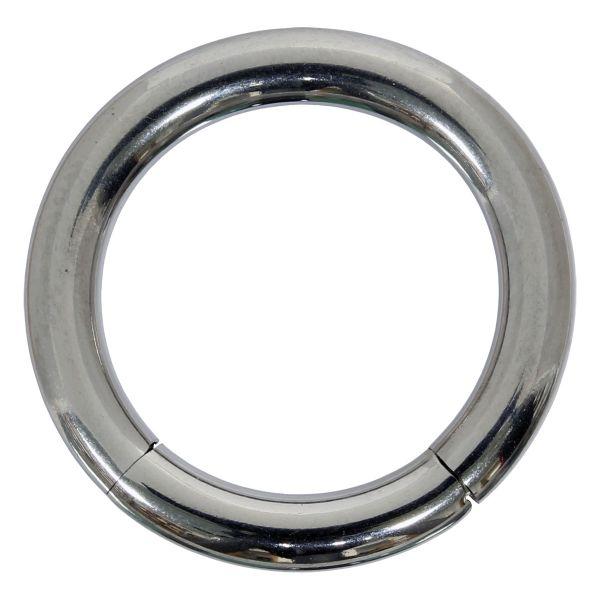 Segmentring - 2,5 mm aus Chirurgenstahl - Smooth Closure Ring