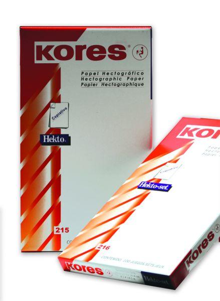100 x KORES® Spiritcarbonsatz violett DIN A4 Stencil Paper Matritzenpapier Hekto