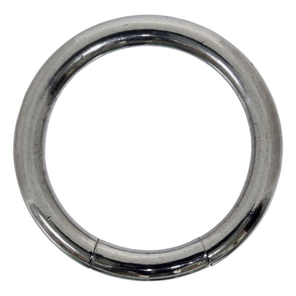 Segmentring - 2,0 mm aus Chirurgenstahl - Smooth Closure Ring