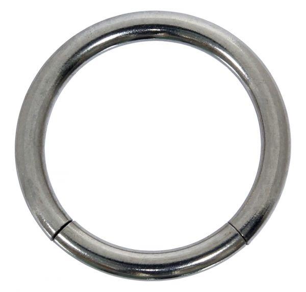 Segmentring - 1,2 mm aus Chirurgenstahl - Smooth Closure Ring