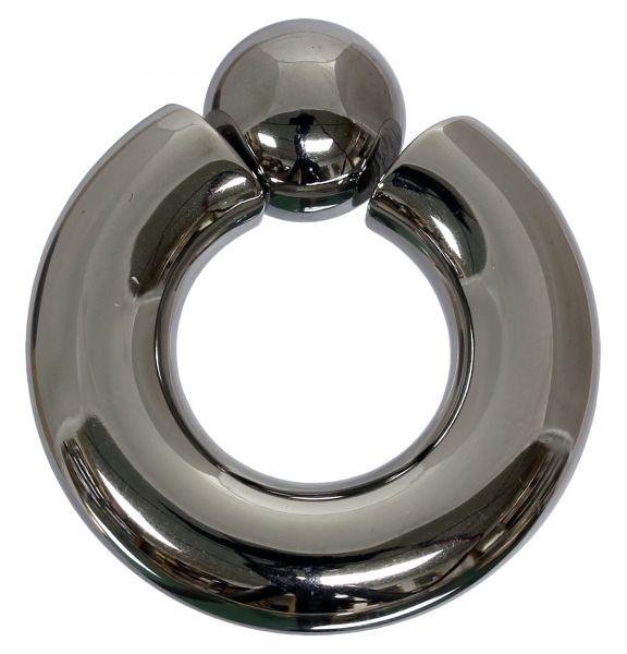 Schraubkugelring 9,0 mm aus Chirurgenstahl mit 2,9 mm Gewinde BCR Piercingring Intimpiercing