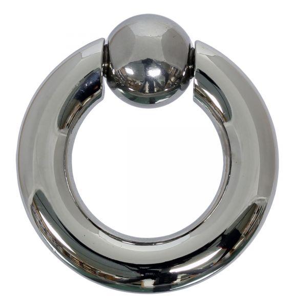 Federkugelring 6,0 mm aus Chirurgenstahl BCR Piercingring Intimpiercing