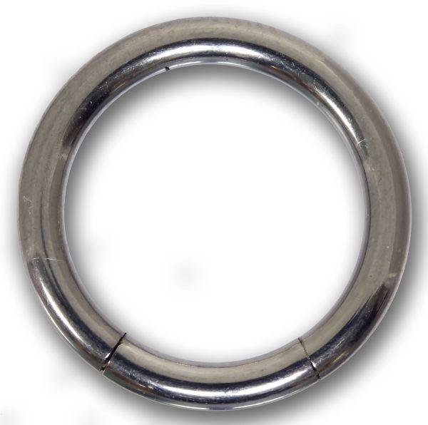 Segmentring - 2,5 mm aus G23 Titan - Smooth Closure Ring